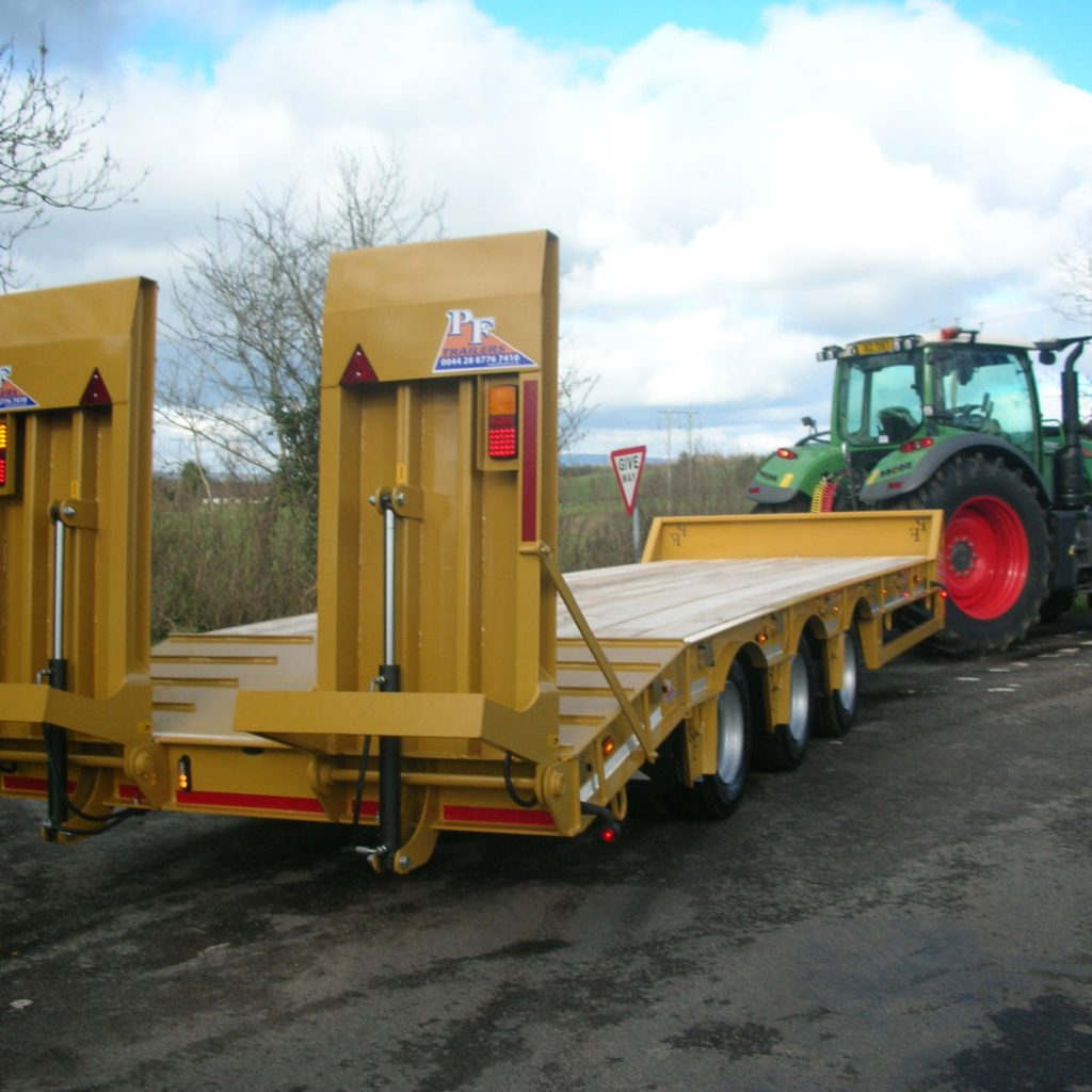 33T Gross Tri-Axle Low Loader