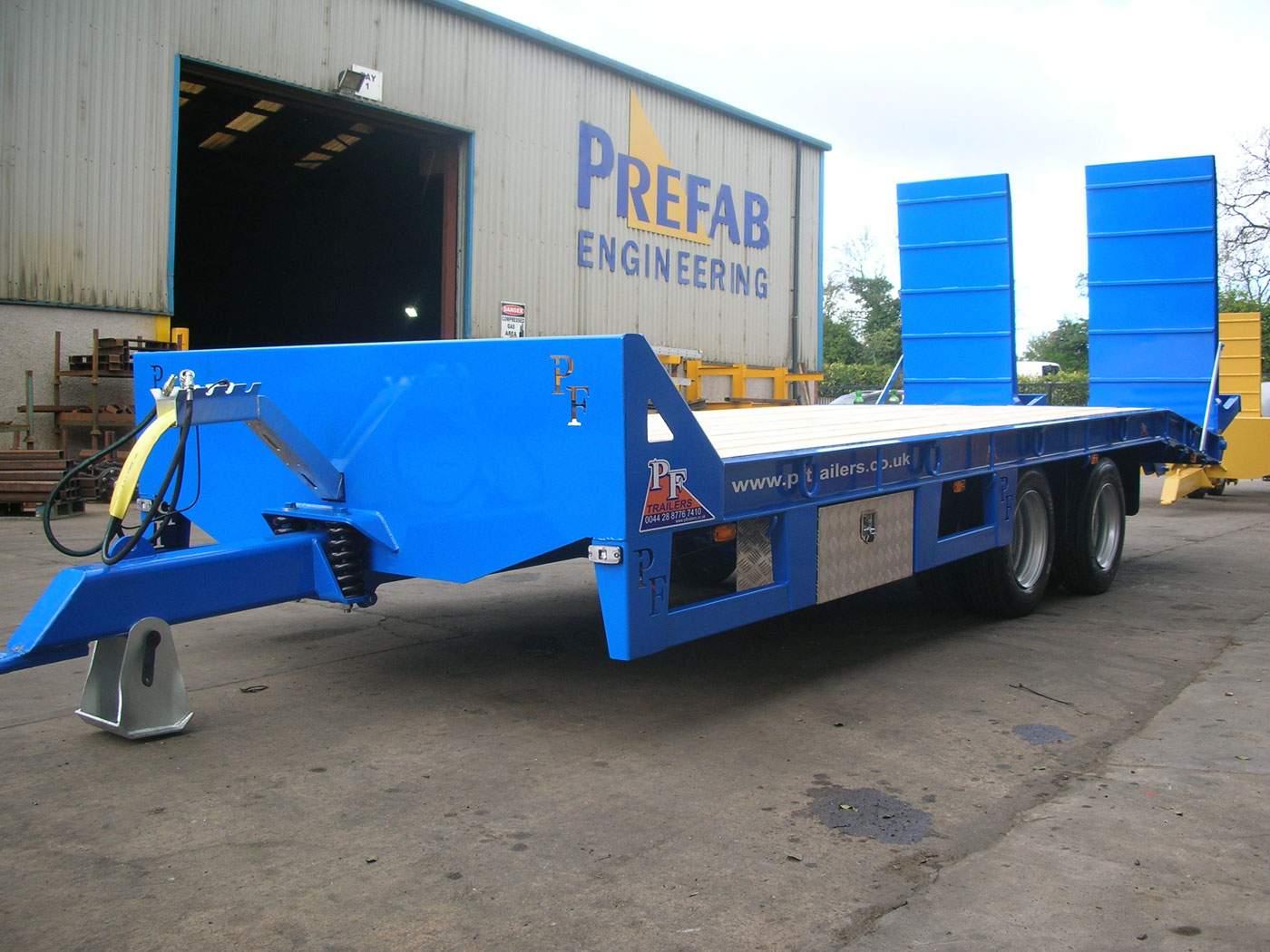 19T Gross Tandem Low Loader