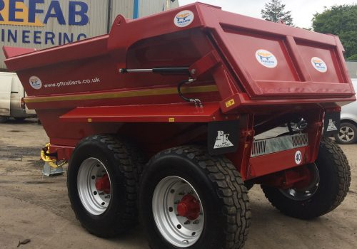 14T Hydraulic Tipping Dump Trailer