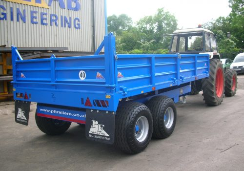 8T Dropside Tipping Trailer