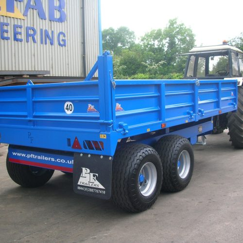 Dropside Tipping Trailers