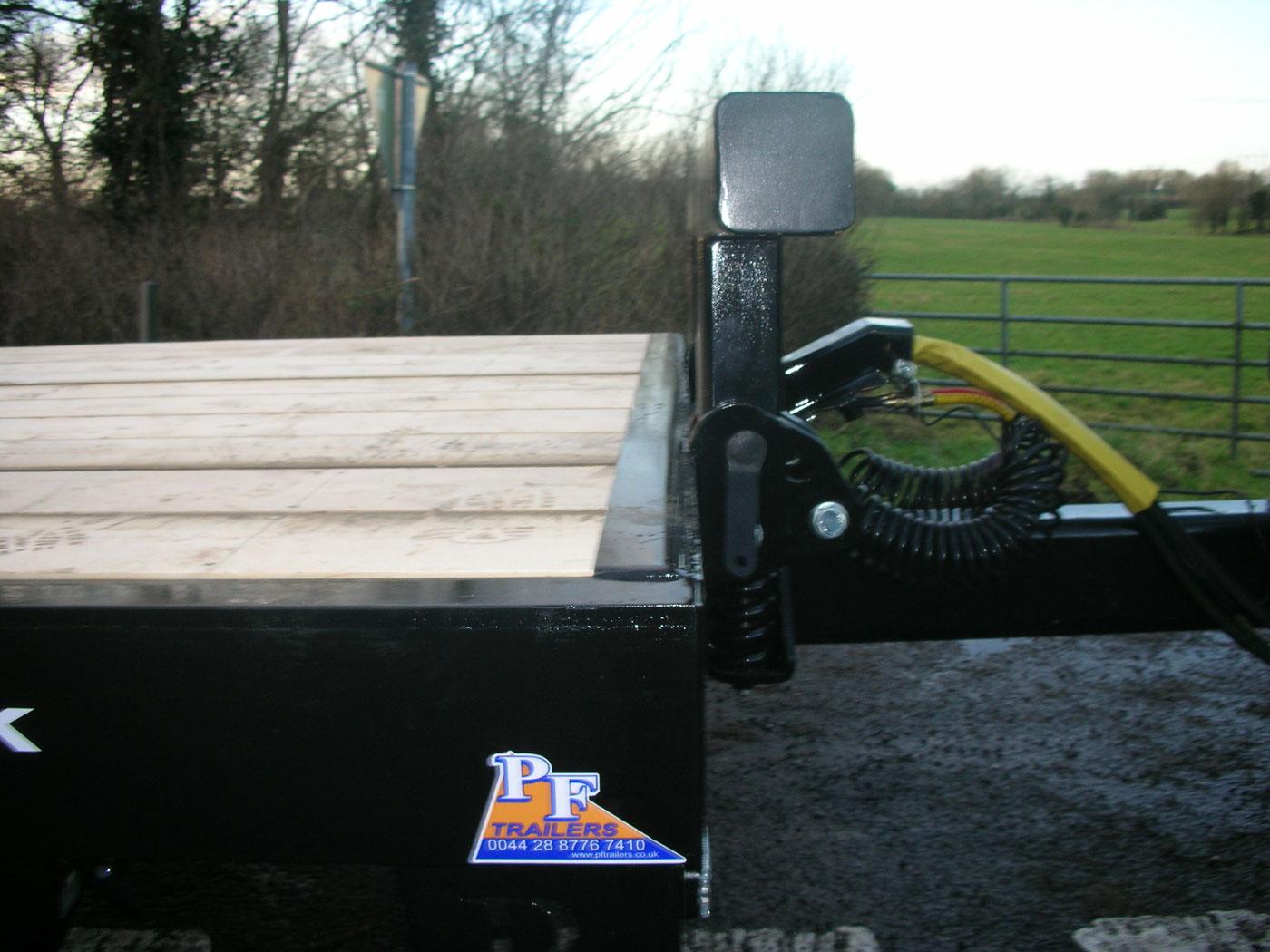 27T Hydraulic Beavertail Trailer