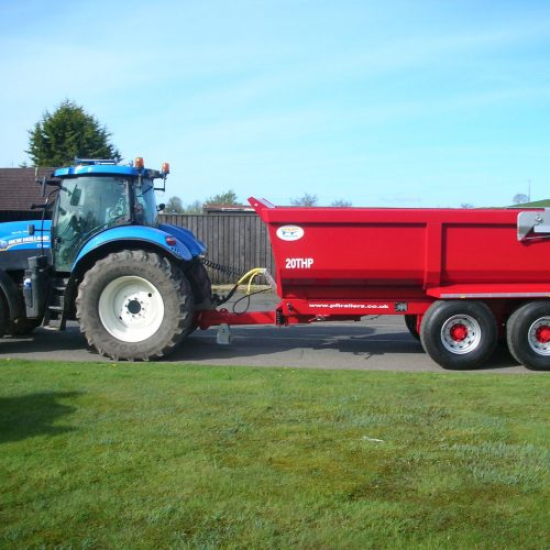 Half Pipe Tipping Trailers