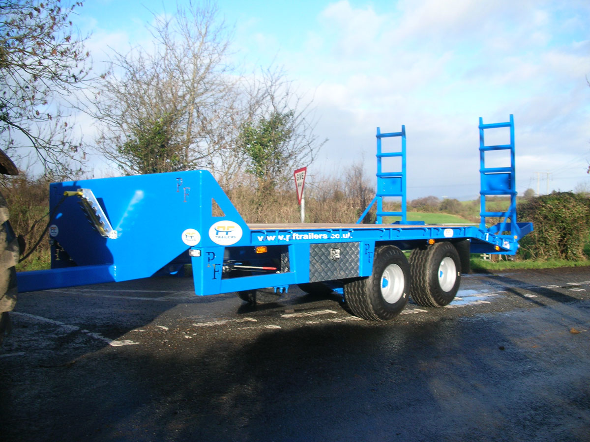 12T Gross Midi Low Loader Trailer - PF Trailers Prefab Engineering