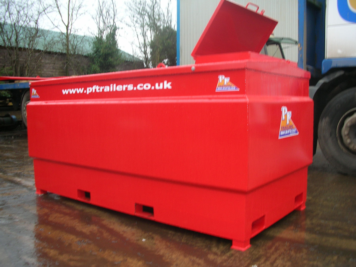 1500Ltr Static Fuel Bowser