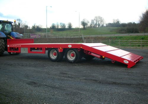 19T Hydraulic Beavertail Trailer