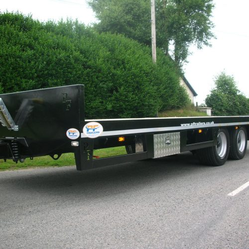 Hydraulic Beavertrail Trailers