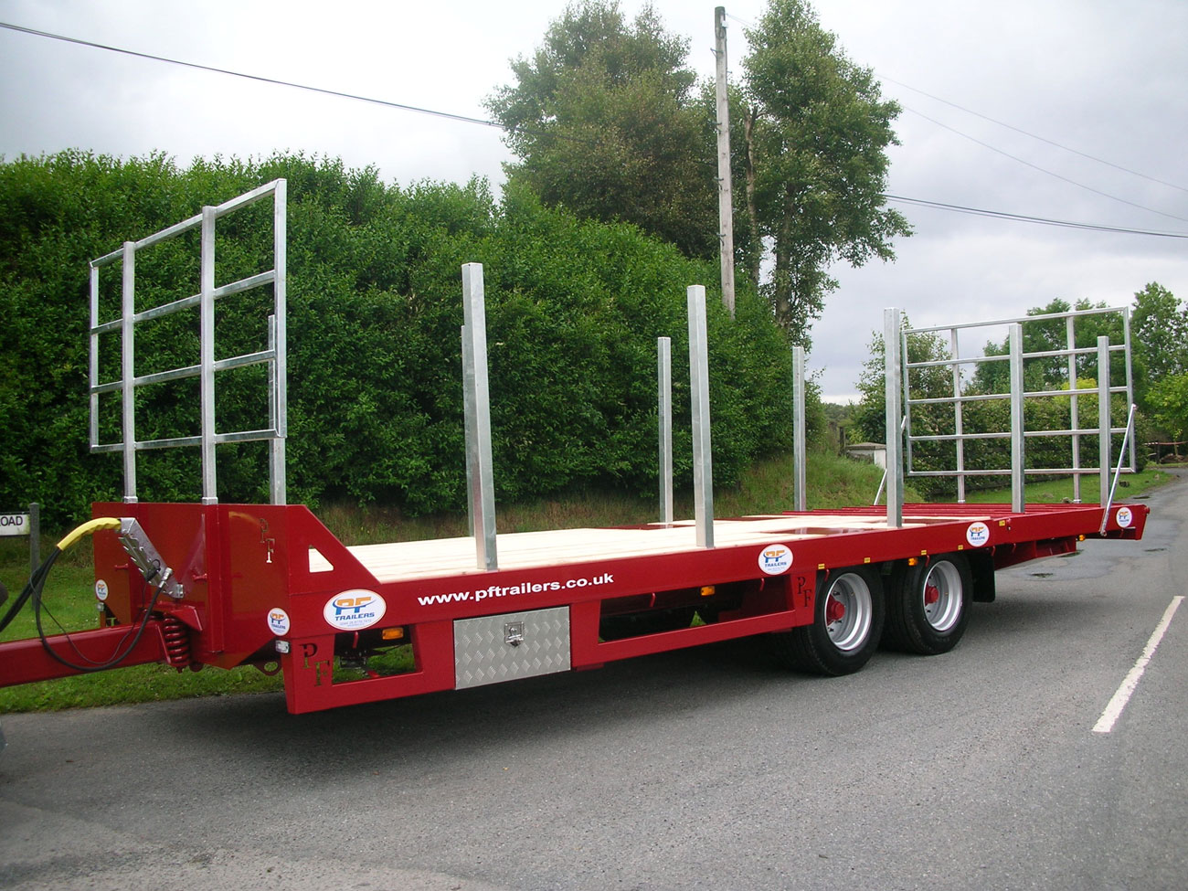 19T Hydraulic Beavertail Trailer